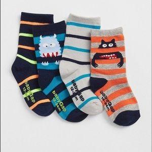 Baby Gap 4 pair socks
